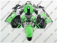 Kawasaki ZX12R Monster Green Fairings