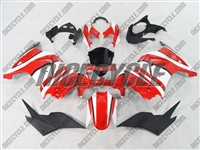 Red/White Ninja 250R Fairings