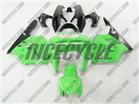 Kawasaki ZX-9R Green Fairings