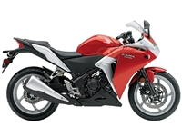 Honda CBR 250R Red/Silver Fairings