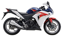 Honda CBR 250R White/Red/Blue Fairings