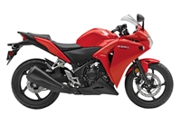 Honda CBR 250R Solid Red Fairings