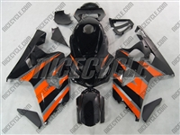 Orange/Black Suzuki GSX-R 600 750 Fairings
