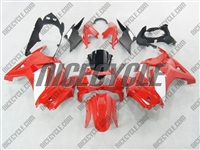 Red/White OEM Style Ninja 250R Fairings