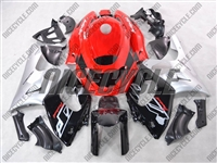 Silver Red OEM Style Yamaha YZF-600R Fairings