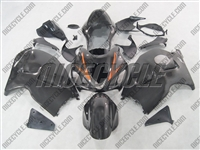Suzuki GSX-R 1300 Hayabusa Charcoal Orange Accent Fairings