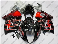 Suzuki GSX-R 1300 Hayabusa Red Fire Fairings
