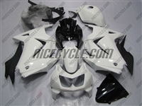 Pearl White Ninja 250R Fairings