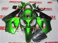 Kawasaki ZX12R Plasma Green/Black Fairings