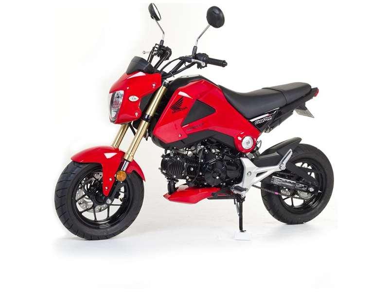 Honda Grom Price >> Honda Grom 2013-Present Red Nose Fairing by Hotbodies