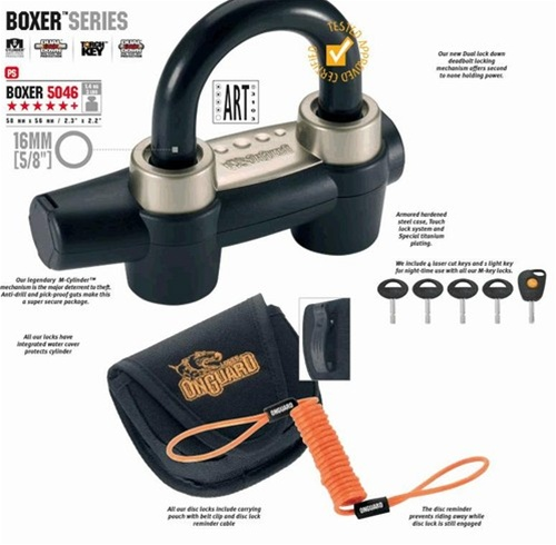 Onguard Boxer 5046 16mm Disc Lock Product Code 5046