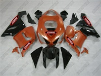 Kawasaki ZX6R Metallic Orange Fairings