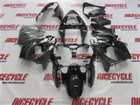 Black Kawasaki ZX9R Fairings