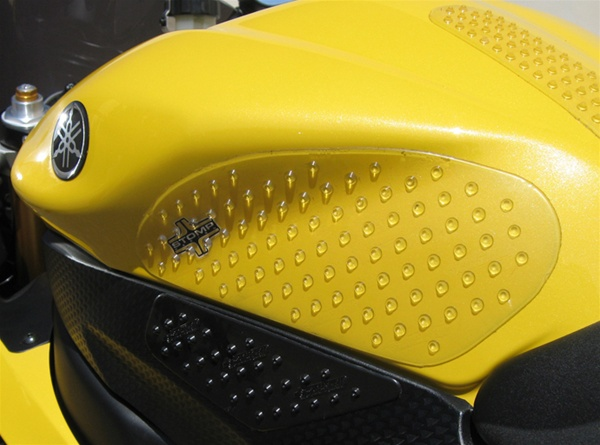 Stomp Traction Pads Motorcycle Tank Grips Yamaha R6 06 07