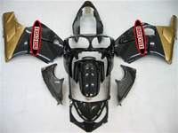 Kawasaki ZX12R Gold/Black Fairings