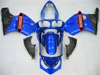 Kawasaki ZX12R Blue/Black Fairings