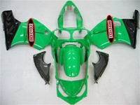 Kawasaki ZX12R Green/Black Fairings