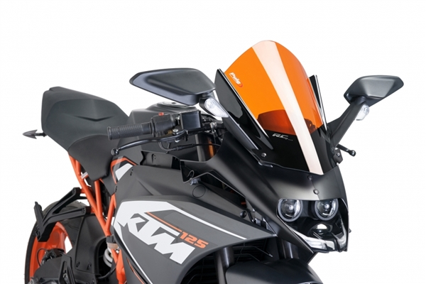 Best Enduro Motorcycle >> KTM RC390 '15-'17 Racing Windscreen by Puig