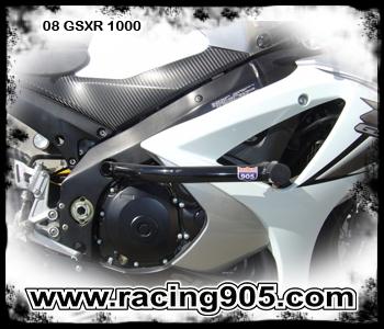 Ultimate Motorcycle Seats >> Yamaha FZ8 Race Rail Frame Sliders Stunt Armor 2011 ...