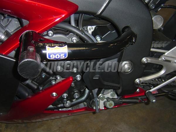 Suzuki GSXR 600 Race Rail Frame Sliders Stunt Armor 2004-2005 by Racing 905