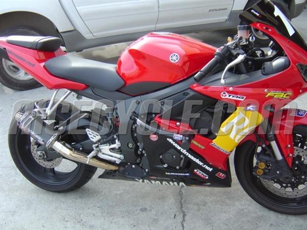 Yamaha Yzf R6 Race Rail Frame Sliders Stunt Armor 2003