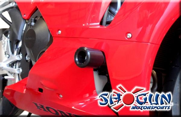 Honda CBR 600RR 2013-Present (NO CUT) Complete Slider Package by Shogun