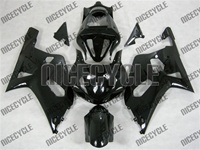 Suzuki GSXR 600/750 Gloss Black Fairings