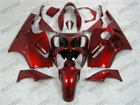 Kawasaki ZX12R Red Metal Fairings