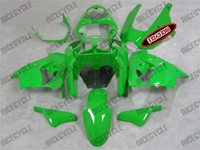 Kawasaki ZX9R Green Flame Fairings