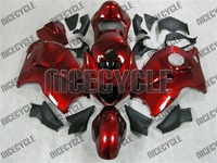 Candy Paint Red Hayabusa Fairing