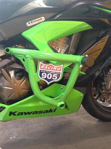 Kawasaki Zx6r Stunt Engine Cage 2013 2016 By Racing 905