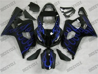 Blue Flame Suzuki GSX-R 600 750 Fairings