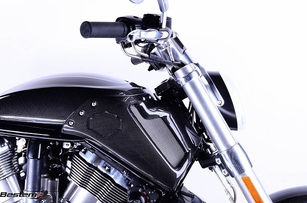 Harley Davidson Bike Covers >> Harley Davidson VRSCF V Rod Muscle Carbon Fiber Side Fairings