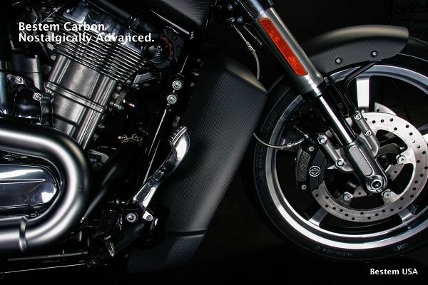 Harley Davidson Vrscf V Rod Muscle Carbon Fiber Radiator