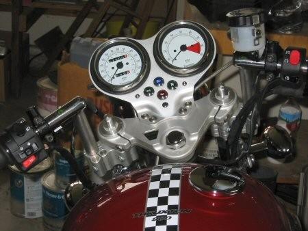 Triumph Thruxton Convertibars Handlebar Riser System