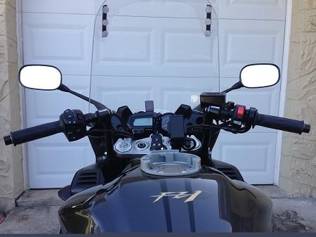 Quick Oil Change >> Yamaha FZ1 2006-Present ConvertiBARS Handlebar Riser System