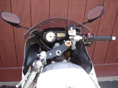 Suzuki Gsxr 600 >> Suzuki GSXR 1000 2003-2004 ConvertiBARS Handlebar Riser System