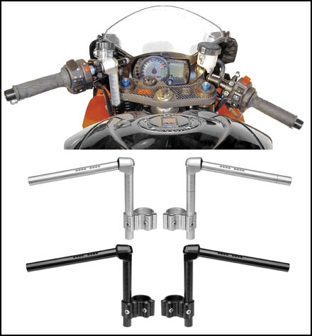 suzuki gsxr    convertibars handlebar riser system