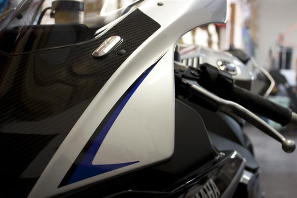 Yamaha Yzf R1 2015 2016 Driven Mirror Eliminator Blockoffs