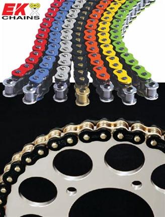 Carbon Fiber Wheels >> MOTORCYCLE CHAIN by EK CHAIN - 525 X 120 MVXZ X-RING CHAIN ...