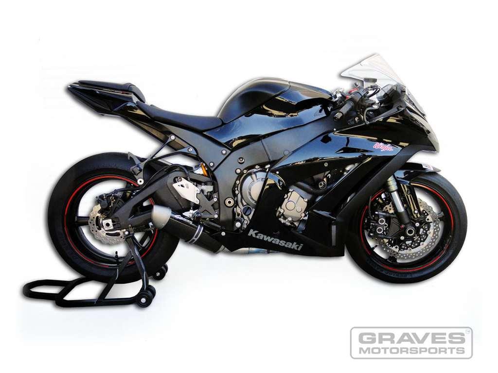 Honda Grom Price >> Graves Motorsports Kawasaki ZX-10 Slip-on Exhaust Stainless