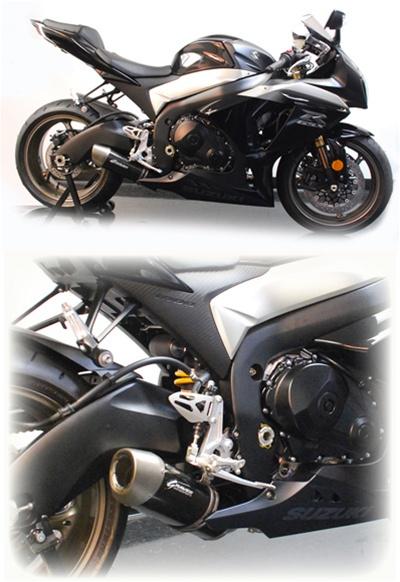 Suzuki Gsxr 1000 Exhaust Full System Stainless Steel