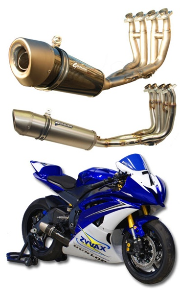 Graves motorsports yamaha r6 full stainless steel works for Yamaha r6 carbon fiber exhaust