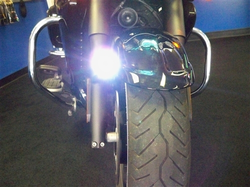Honda Grom Review >> Motorcycle LED Fog Lights - Universal