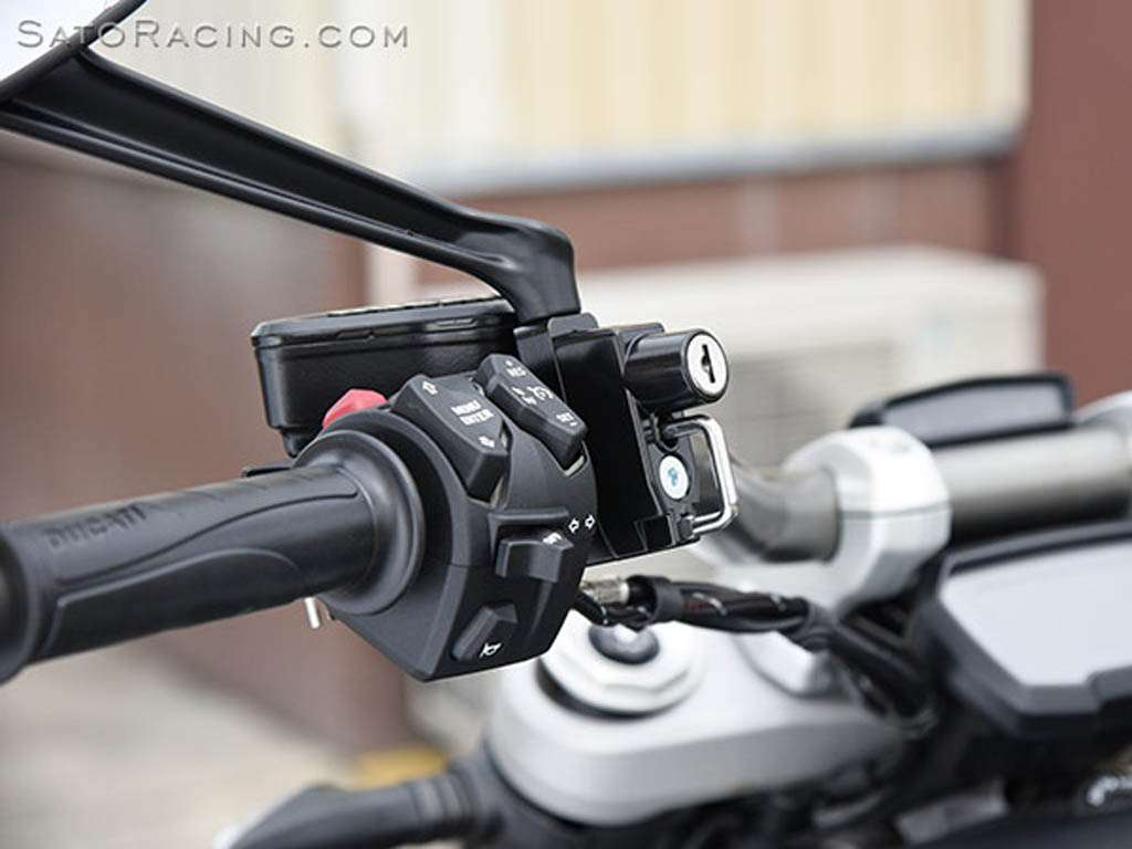 Universal Helmet Lock by Sato Racing 32mm w 8mm  : HL32 8 2 Motorcycle <strong>Cable Lock</strong> from www.nicecycle.com size 1024 x 768 jpeg 52kB
