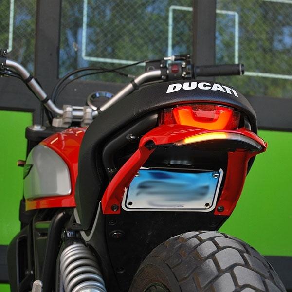 Ducati Scrambler Icon Urban Enduro Led Fender Eliminator Kit