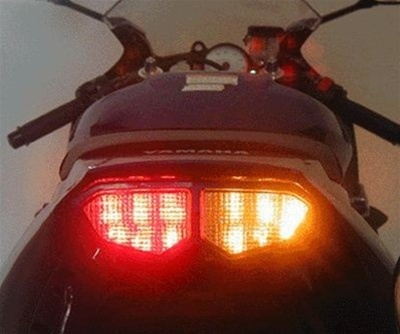 Yamaha Yzf R6 03 05 Led Integrated Brake Light