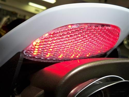honda cbr rr   integrated brake tail light