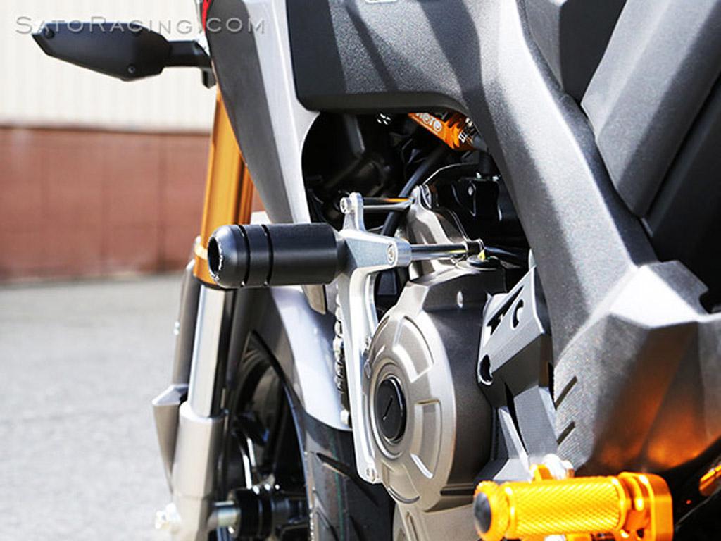 Spyker Engine  Frame Sliders for Honda Grom 125