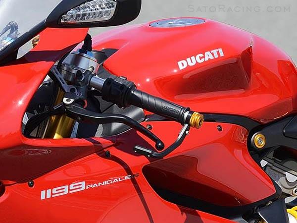 Ducati Lever Guards